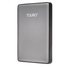 HGST 0S03696 TOURO S 7200转 移动硬盘 _灰色_1T