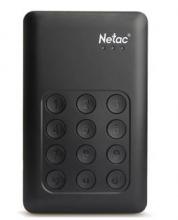 朗科 NETAC K390 按键加密式移动硬盘K390 USB3.0_黑色_2T