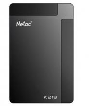 朗科 NETAC K218 2.5英寸加密移动硬盘 USB3.0_黑色_160G