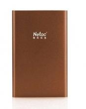 朗科(Netac) K132 1.8英寸 迷你移动硬盘_咖啡色_80G