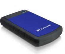创见 TRANSCEND STOREJET 25H3B军规抗震移动硬盘 USB3.0_军规抗震深蓝色_2T