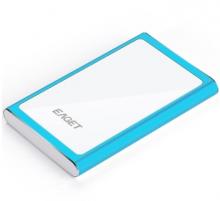 忆捷 EAGET G90 时尚超薄硬加密全金属 USB3.0高速移动硬盘_蓝色_1T
