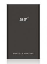 朗科(Netac) 朗盛E195系列 2.5英寸 USB2.0 移动硬盘_黑色_750G