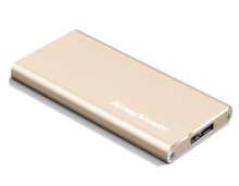 金胜 KINGSHARE S7系列 USB3.0 MINI固态移动硬盘KSM7032G_金色_32G