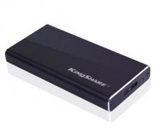金胜 KINGSHARE S300系列 USB3.0 MINI固态移动硬盘 KSMN3128M_黑色_128G
