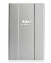 朗科(Netac) K135 1.8英寸 迷你移动硬盘_银色_160G