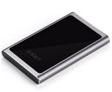 忆捷 EAGET G90 时尚超薄硬加密全金属 USB3.0高速移动硬盘_黑色_500G