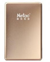 朗科 NETAC K206全金属移动硬盘2.5英寸 USB3.0_香槟色_1T
