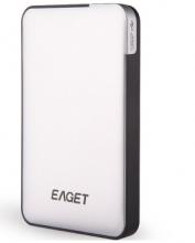 忆捷 EAGET E600 2.5英寸 USB3.0超薄硬加密防震移动硬盘_白色_2T
