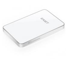 忆捷 EAGET E30 超薄时尚硬加密全金属 USB3.0高速移动硬盘_银白色_500G