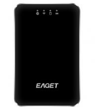 忆捷 A86 无线WIFI USB3.0高速移动硬盘 3G路由器3000mA聚合物电源_A86 WiFi硬盘_1T