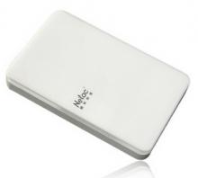 朗科(Netac)小白 USB3.0 加密 2.5英寸时尚型移动硬盘_白色_2T