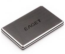 忆捷 EAGET G50 2.5英寸 USB3.0全金属硬加密防震移动硬盘_黑色_1T
