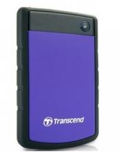 创见 TRANSCEND STOREJET 25H3P军规抗震移动硬盘 USB3.0_军规抗震(紫色)_1T