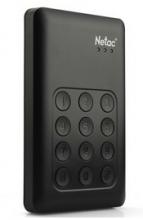 朗科(Netac) K390 按键加密式移动硬盘USB3.0_黑色_1.5T