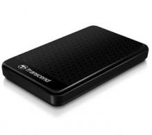 创见 TRANSCEND 暗黑骑士系列 抗震高速移动硬盘 USB3.0 25A3K_黑暗骑士系列(黑)_2T