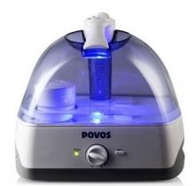 奔腾(POVOS) PW115 静音带夜灯带滤芯加湿器 5L大水箱大容量欧式净化型