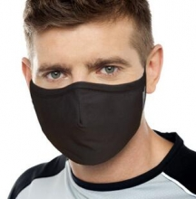 3M耐适康口罩防尘防风保暖男女舒适型口罩 棉 酷黑 L号