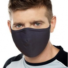 3M耐适康口罩防尘防风保暖男女舒适型口罩 棉 深蓝色 L号