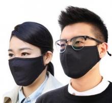瑞世普(Respimask) PM2.5滤片5只装 赠保暖纯棉口罩(黑色)