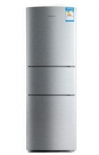 容声(Ronshen)BCD-211D11S 211升 三门冰箱 (卡其银)