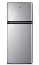 TCL BCD-118KA9 118升 双门冰箱 LED照明 金属面板(闪白银)