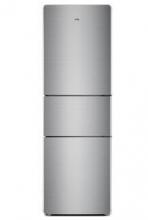TCL BCD-205TF1 205升 三门冰箱 净味保鲜 软冷冻(星空银)