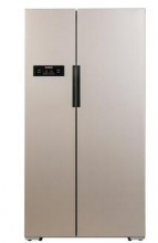 西门子(SIEMENS)KA92NV03TI 610升 变频风冷无霜 对开门冰箱 (浅金色)BCD-610W(KA92NV03TI)