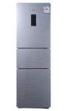 TCL BCD-206TEF1 206升 三门冰箱 电脑温控 光合养鲜(星空银)