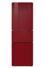 TCL 206升高光玻璃三门冰箱BCD-206TBF1(探戈红)