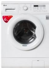 LG WD-N12435D 6公斤 静音DD变频滚筒洗衣机(白色)WD-N12435D