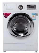 LG WD-A12411D 8公斤 洗烘一体DD变频滚筒洗衣机(白色)WD-A12411D