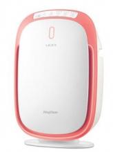 莱克(LEXY)家用KJ302小身材大洁净空气量除甲醛雾霾净化器 樱桃红