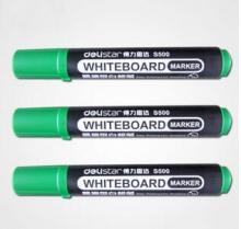 得力(deli)S500 高品质纤维笔头白板笔