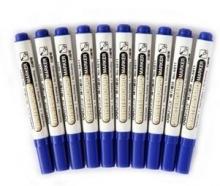 得力(deli)6811蓝色白板笔  办公用品