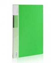 得力(deli)5031 靓彩系列资料册 A4/10页 绿色 单只装