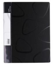 得力(deli)5458 时尚封面设计8寸长押夹 文件夹+插页袋