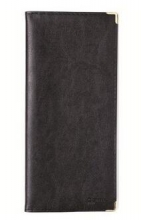 齐心(COMIX)NU96 便携式软皮名片册 可容纳96枚