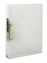 得力(deli) 5381 A4D型二孔透明文件夹 半透明色 单只装