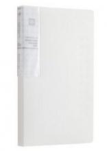 齐心(COMIX)A1621 抗菌系列便携式名片册120枚(60袋)一段三格
