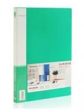 得力(deli)5303 实用文件夹 A4弹簧夹+插袋  单只装