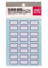 得力(deli)7194 自粘性标签纸可反复粘撕 12张装