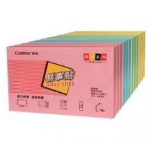 齐心(COMIX)D5004 强力便利贴(76x125mm)颜色随机