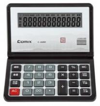 齐心(COMIX)C-600 学生办公语音计算器 红色