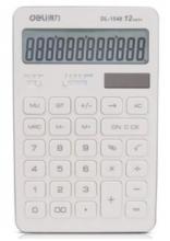得力(deli)1548A商务办公桌面计算器 太阳能双电源