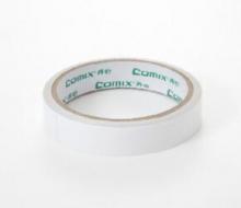 齐心 COMIX MJ1210 棉纸双面胶带 9.1米 24mm 1卷