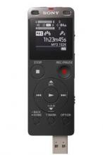 索尼(SONY)ICD-UX565F 数码录音棒 纤薄机身 8GB (黑)