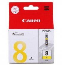 佳能(Canon)CLI-8Y 黄色墨盒