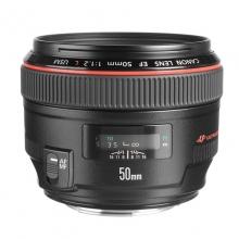 佳能EF 50mm f1.2L USM 标准定焦镜头 红圈人像