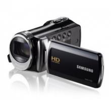 三星(SAMSUNG) HMX-F90 家用高清闪存数码摄像机 黑色